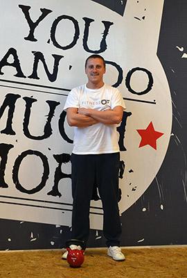 Trener Igor Škrtić