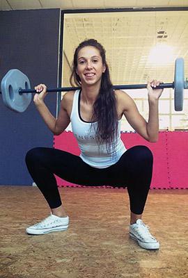 Trener Lorena Tihi
